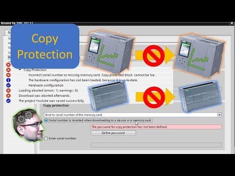 TIA Portal: Copy Protection! - Binding A Program To A PLC/SMC