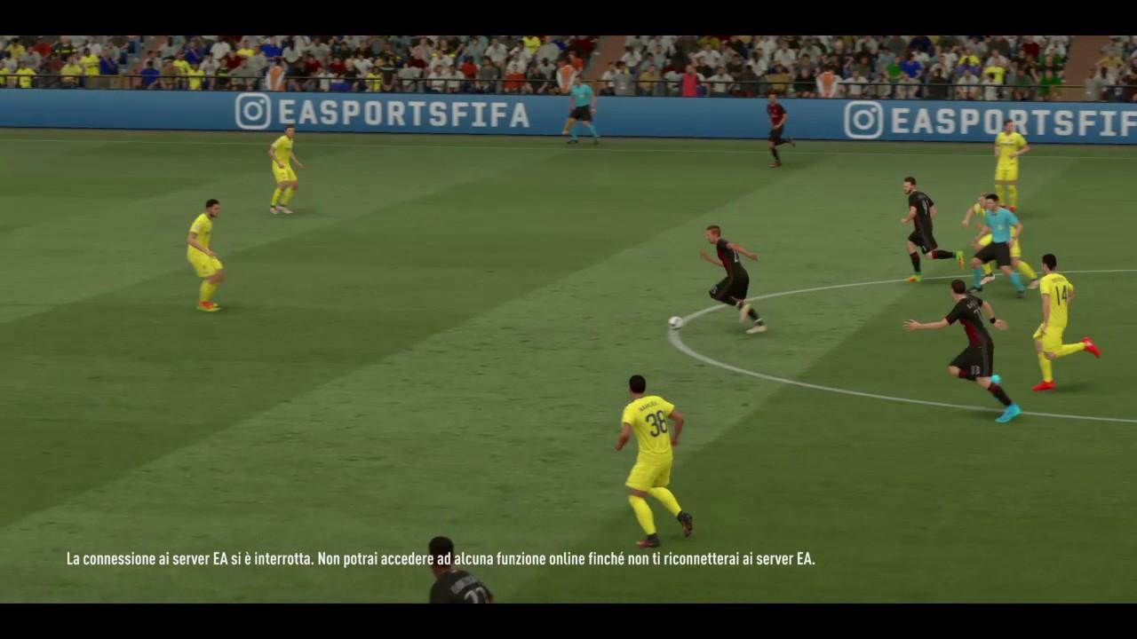 Goal Mastour Da Centrocampo Fifa 17 Youtube