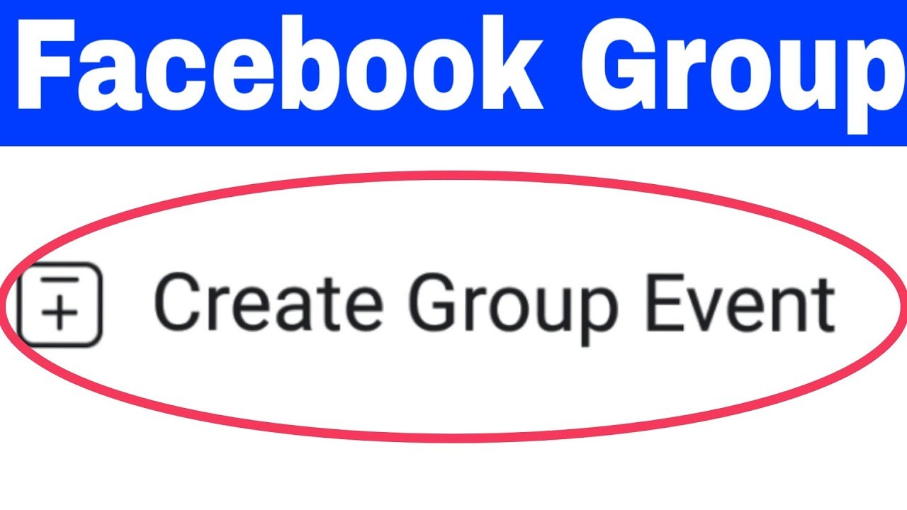 How To Create Facebook Group Event