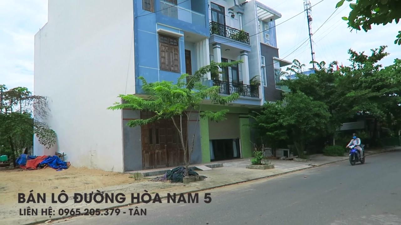 Lô đất đường Hòa Nam 5  hướng đẹp quận Cẩm Lê Đà Nẵng
