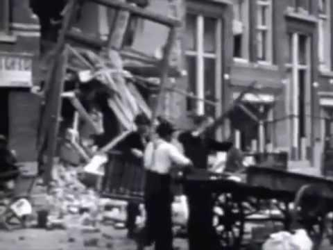 Bombing of Rotterdam - Bombardement op Rotterdam 14 mei 1940