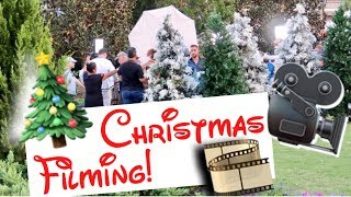 Disney Christmas Filming 2017! Taping for Wonderful World of Disney: Magical Holiday Celebration