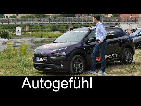 Citroen C4 Cactus Eco Tour fuel economy test drive review with roadtrip