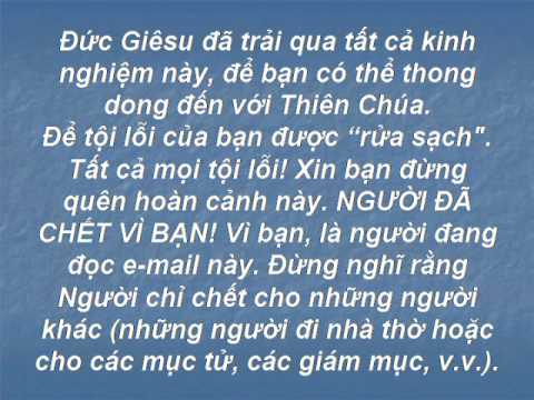 Cai Chet (Khoa Hoc) Cua Chua Giesu