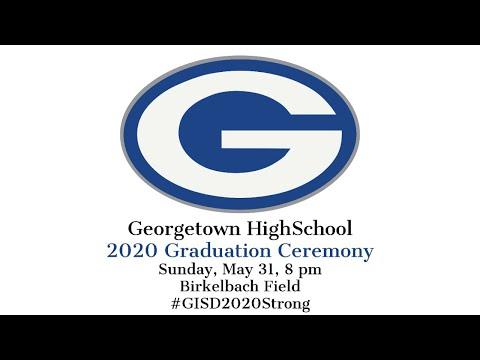 Georgetown High School Graduation 2020