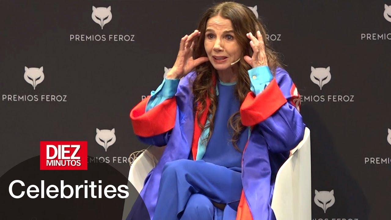 Victoria Abril: declaraciones polémicas en los Premios Feroz | Diez Minutos