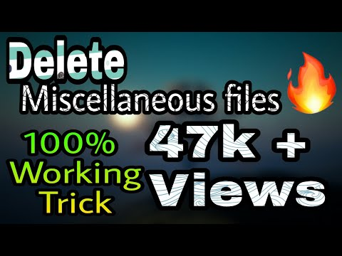 How to delete miscellaneous files on Samsung 100% working trick