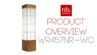 Wr457nr-wc Wooden Display Cabinet
