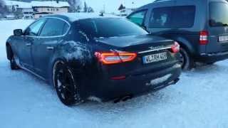 2014 Maserati Quattroporte - Noisy Sound!