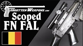 FN FAL With an Original FN Scope