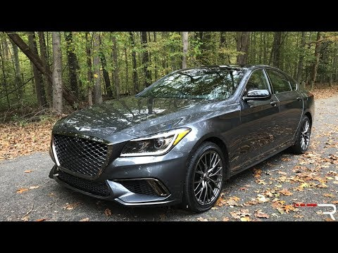 2018 Genesis G80 Sport Redline Review Youtube