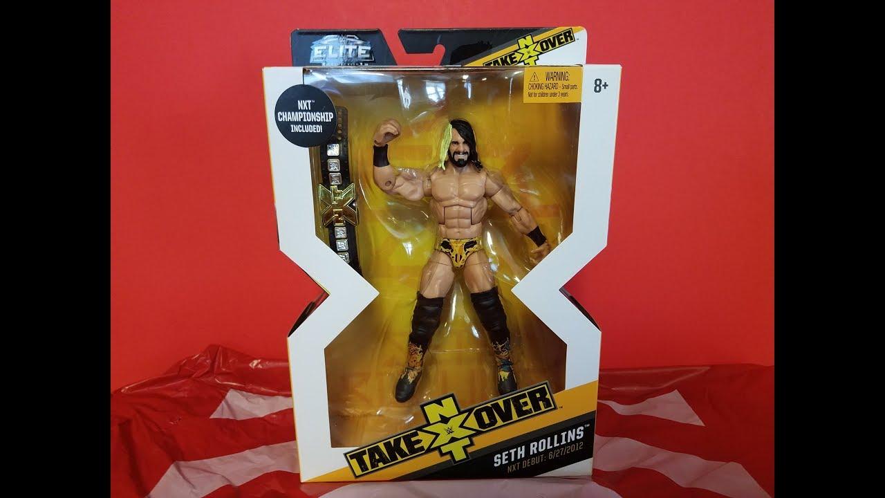 Target Wwe Toys : Wwe mattel elite seth rollins nxt takeover target