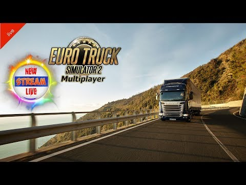 Euro Truck Simulator 2. Multiplayer. Обновление. Выполняем Ивент. 18+