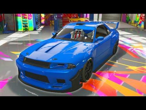 "GTA 5 Online - NEW ""ELEGY RETRO CUSTOM"" DLC CAR & CUSTOMIZATION! (GTA 5 Nissan Skyline GTR R33)"