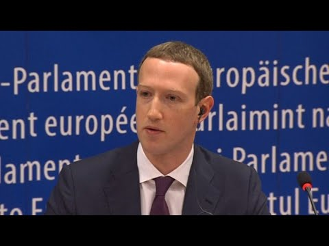 Mark Zuckerberg grilled by European Parliament members