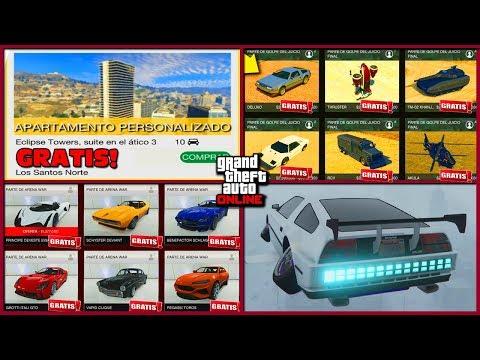 *EXCLUSIVO* -NEW GTA 5 Online (PS4)- ALL FREE / TODO GRATIS / ALLES KOSTENLOS - (GTA V MONEY GLITCH)