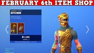 Fortnite Item Shop (FEBRUARY 6th) | Another Bad Shop...