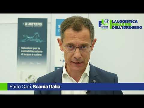 La logistica sulla via dell'idrogeno: intervista a Paolo Carri, Scania Italia