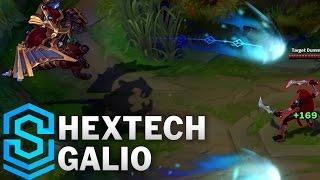 Hextech Galio (2017) Skin Spotlight - League of Legends
