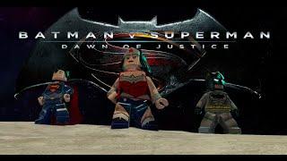 Lego Batman v Superman Dawn of justice Trailer