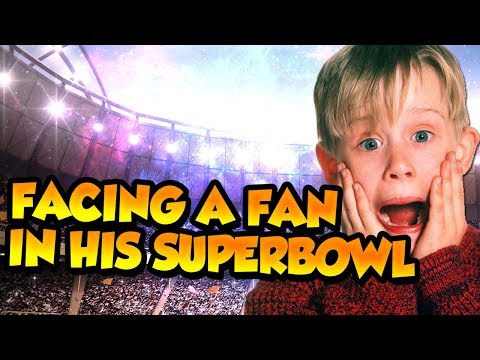 Madden 18 Ultimate Team :: Facing a Fan in his Superbowl :: Madden 18 Ultimate Team