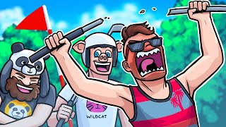 I HATE THIS COURSE!!! - Golf It Funny Moments and Rage