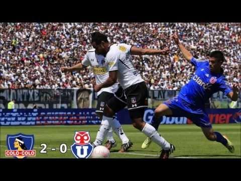 Colo Colo 2 - 0 Universidad de Chile Apertura 2014 (ADN Radio Chile)