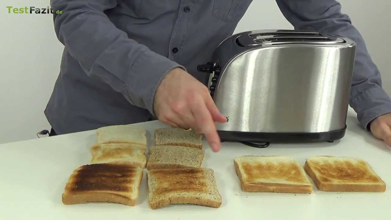 wmf stelio toaster test youtube. Black Bedroom Furniture Sets. Home Design Ideas