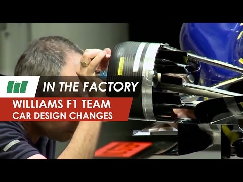 Williams F1 Team 2013 | car design changes | Williams FW35 Formula 1 | IN THE FACTORY