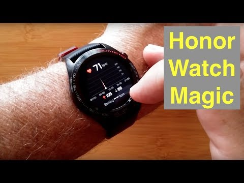 HUAWEI Honor Watch Magic IP68 5ATM Waterproof GPS Advanced Fitness Smartwatch: Unboxing & Review