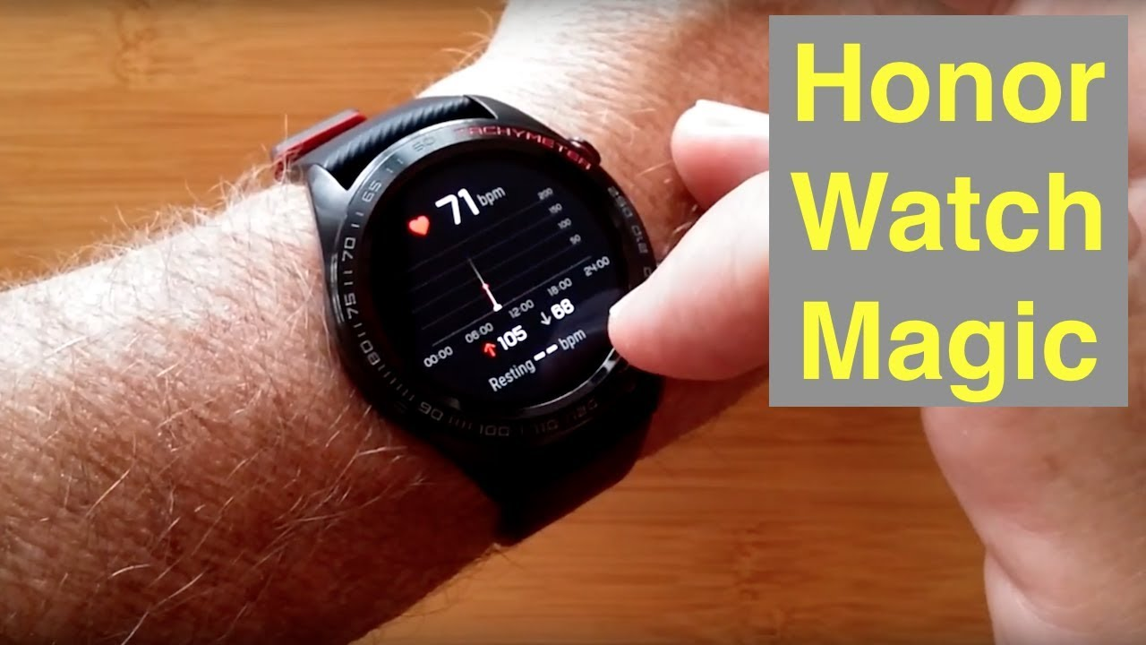 the latest b33eb 47be2 HUAWEI Honor Watch Magic IP68 5ATM Waterproof GPS Advanced Fitness  Smartwatch: Unboxing & Review