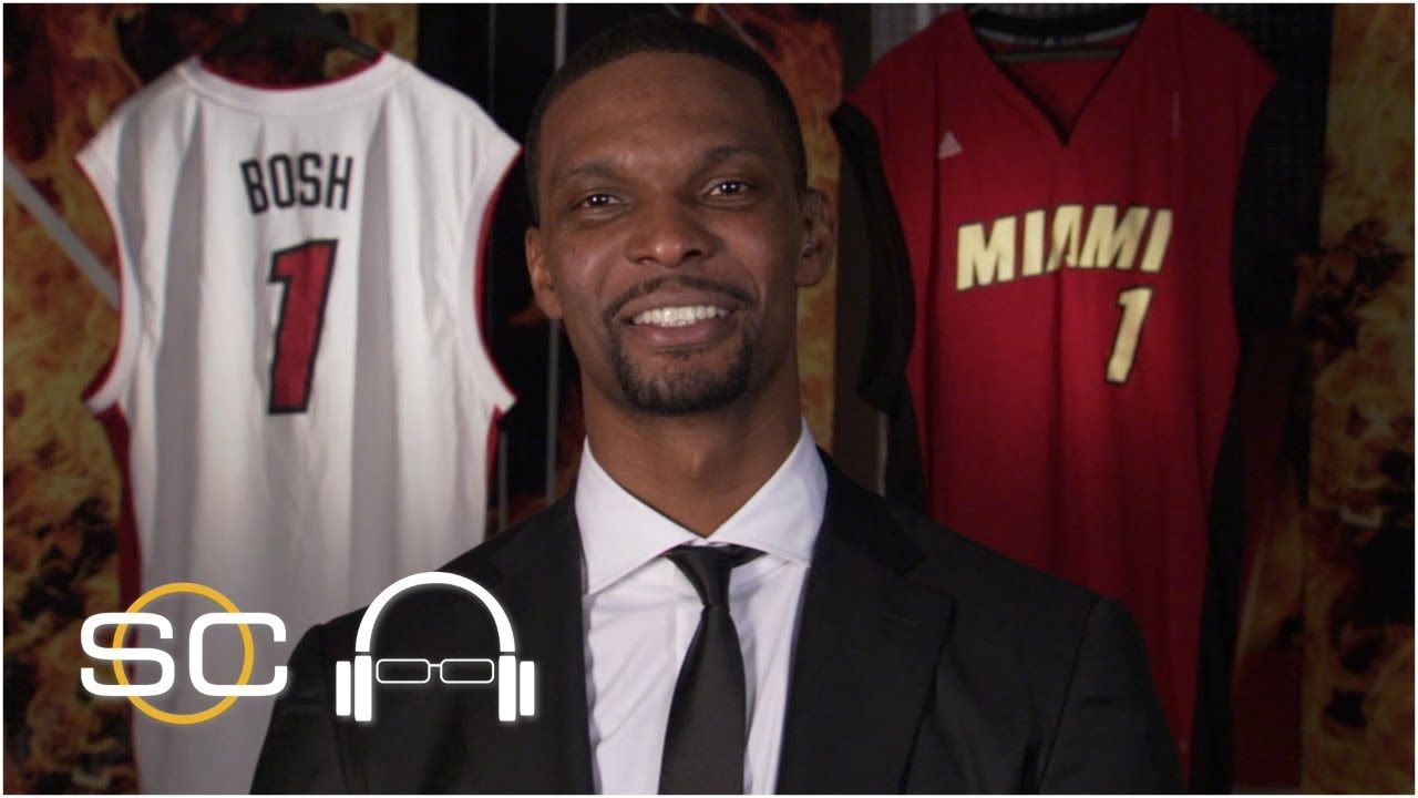Chris Bosh is 'very prideful' after his No. 1 jersey was retired by the Miami Heat | SC with SVP