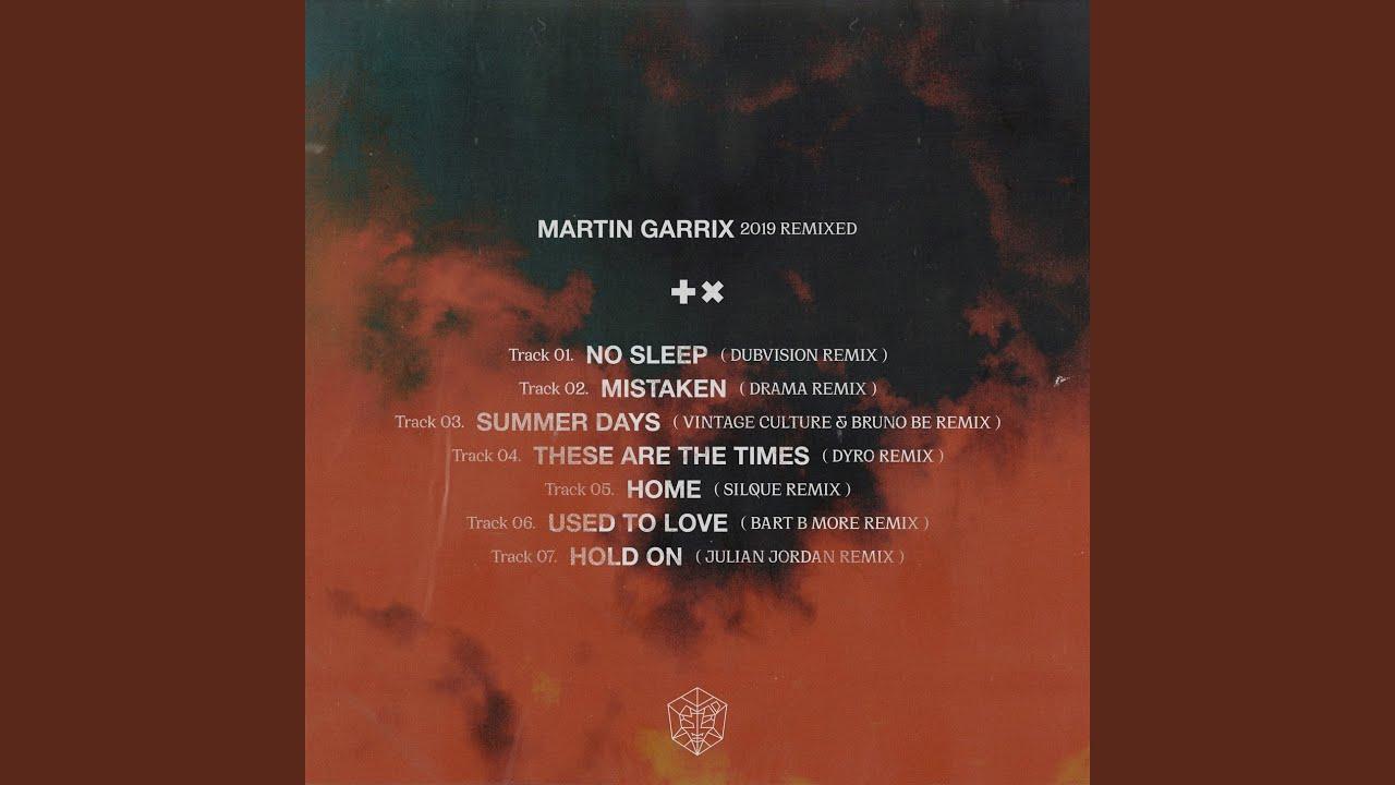 Martin Garrix · Matisse & Sadko · Michel Zitron - Hold On (Julian Jordan Remix)