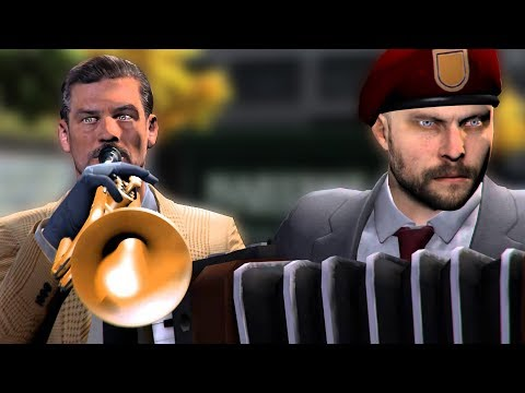 [Payday 2] The Best Heist Music - Trouble's Always Inbound
