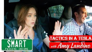 Secrets to Success on YouTube w/ Amy Landino [Tactics in a Tesla]