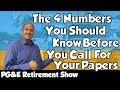 🔴 PG&E Retirement: The 4 numbers you need to know!
