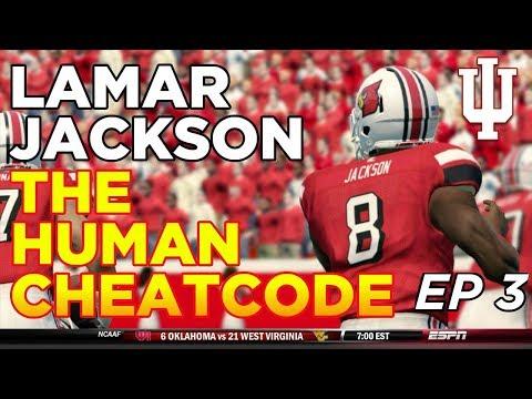 NCAA Football 14 Dynasty   Indiana Hoosiers - LAMAR JACKSON OMG!!! EP 3