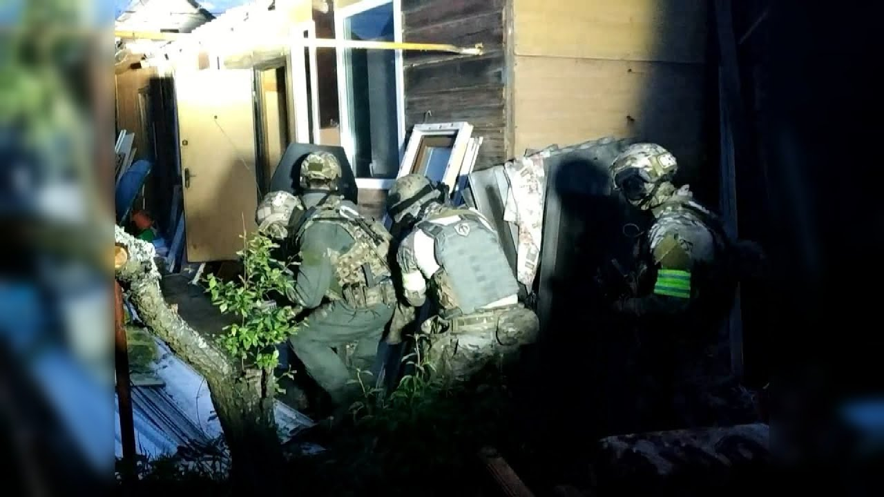Под Владимиром ликвидировали готовивших теракт боевиков