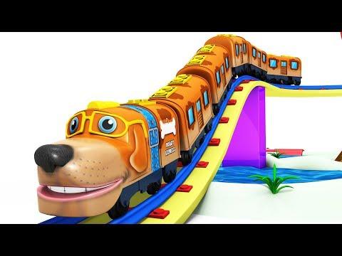 POPPY TRAIN - CARTOON CARTOON - KIDS VIDEOS FOR KIDS - CHOO CHOO CARTOON TRAIN