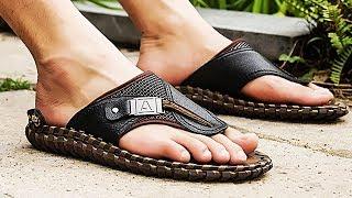 Latest Men's Slippers | Genuine Leather Luxury Slipper For 2019