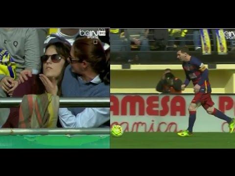 Lionel Messi trafił kibickę piłką