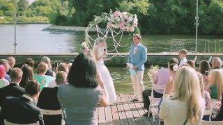 Свадьба в шатре. Яхт-клуб Авангард