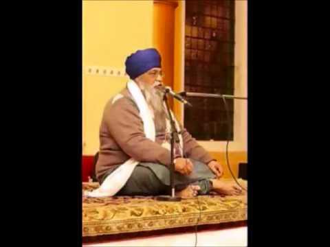 Giani Thakur Singh Ji (Baba Ajit singh Hansali telling avastha of Sant Jarnail Singh Bhindranwale)