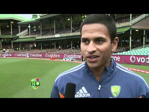 3 Jan: Usman Khawaja post-match interview