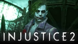 Injustice 2: The Joker Official Gameplay Reveal Trailer! (Injustice: Gods Among Us 2)