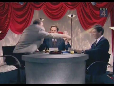 Russian politics. ''One on one'' talk show. Zhirinovsky vs Nemtsov. ''Budyonnovsk'' (English subs)