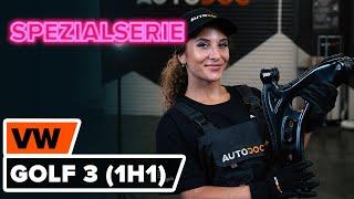 Wie Sie Drehzahlfühler beim VW GOLF III (1H1) selbstständig austauschen - Videoanleitung