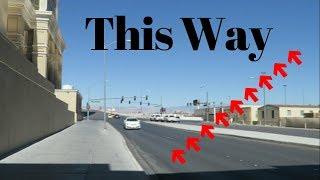 Fastest Way to Walk to Las Vegas Raiders Stadium from The Strip