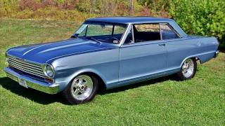 1965 Chevy Nova SS 406V8 Four-Speed Muscle Car