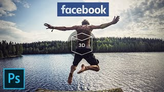 Create Facebook 3D Photos using Photoshop [quickly and easily]